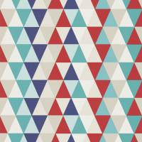 Kaleidoscope Wallpaper - Red/Blue/Multi