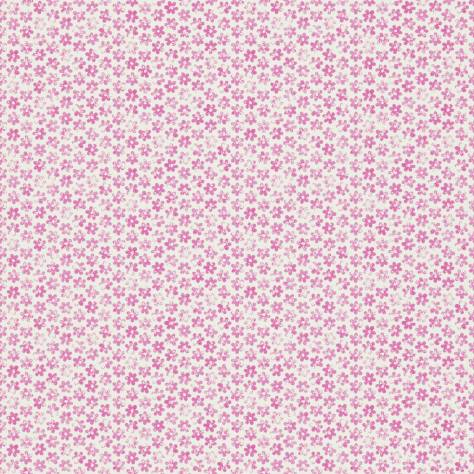 Harlequin All About Me Fabrics & Wallpapers Ditsy Daisy Wallpaper - Pink - 110551