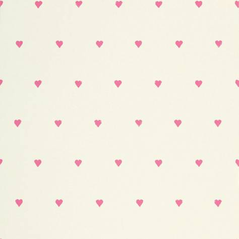 Harlequin All About Me Fabrics & Wallpapers Love Hearts Wallpaper - Candyfloss/Neutral - 110553