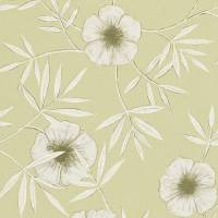 Apella Wallpaper - Linden/Chalk