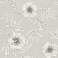 Apella Wallpaper - Smoke/Chalk