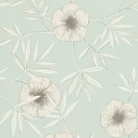 Apella Wallpaper - Seafoam/Chalk