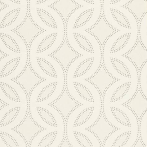 Harlequin Poetica Wallpapers Caprice Wallpaper - Chalk/Pearl/Silver - 110594