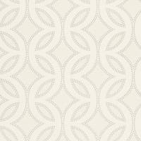 Caprice Wallpaper - Chalk/Pearl/Silver