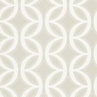 Caprice Wallpaper - Chalk/Flint