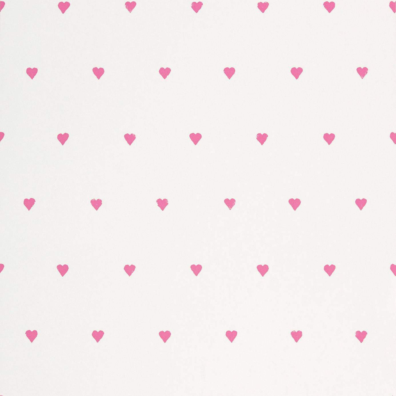 Love Hearts Wallpaper - candy Floss/Neutral (70500) - Harlequin What a Hoot Fabrics & Wallpapers ...
