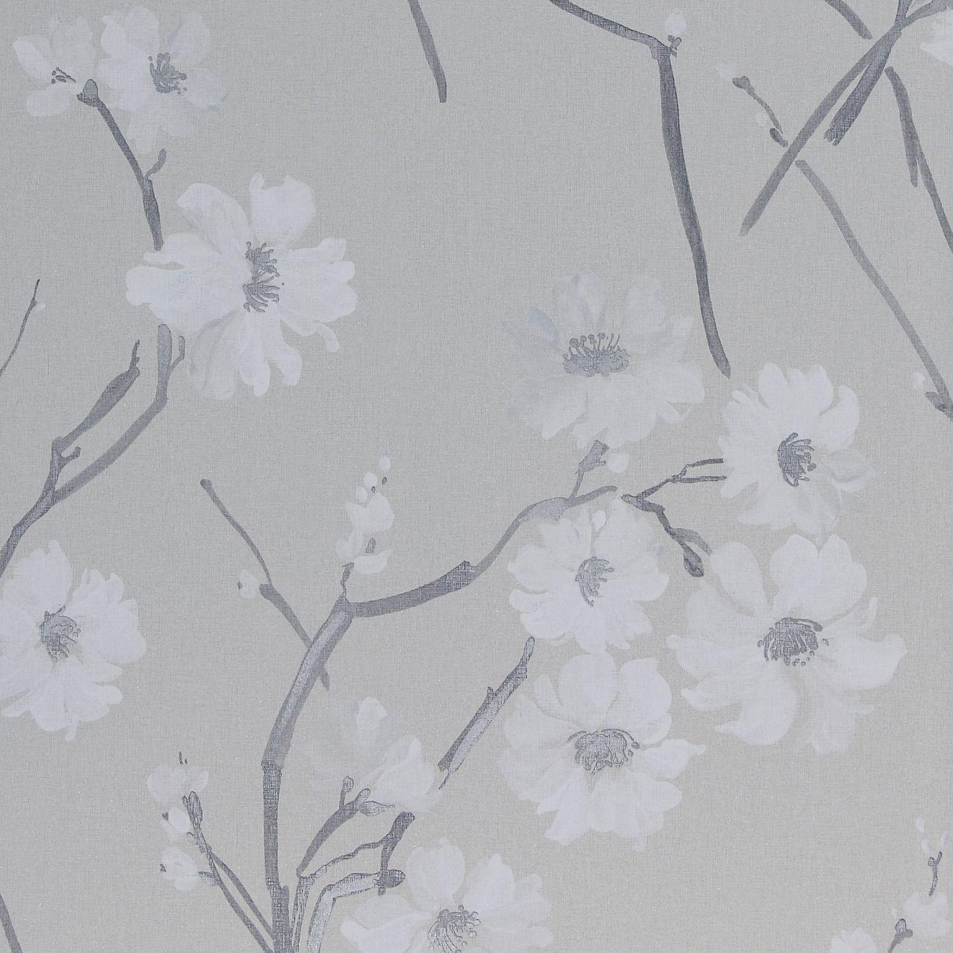 floris wallpaper white silver gilver 30216 harlequin