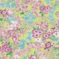 Florica Wallpaper - Chartreuse/Pastel