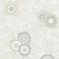 Eden Wallpaper - Chalk/Linen