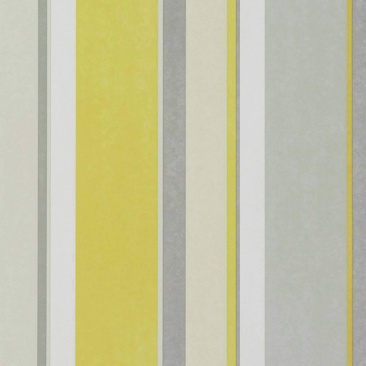 bella stripe wallpaper pale lime grey silver 110045