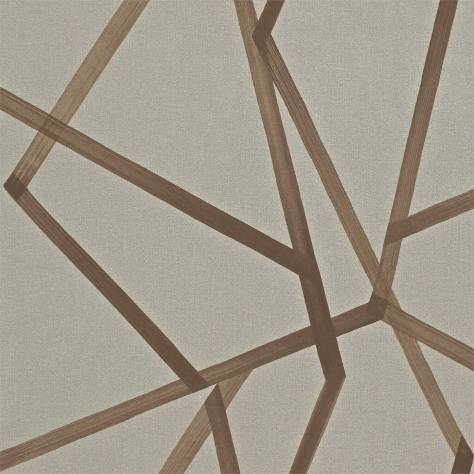 Harlequin Momentum Wallpapers Vol. 3 Sumi Wallpaper - Hessian/Copper - 110885