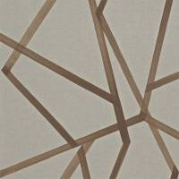 Sumi Wallpaper - Hessian/Copper