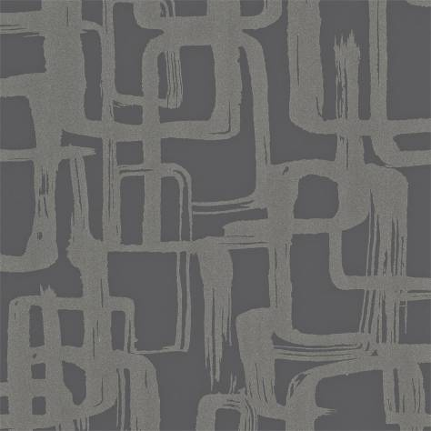 Harlequin Momentum Wallpapers Vol. 3 Asuka Wallpaper - Silver/Slate - 110905